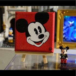 Other - Mickey Mouse acrylic painting